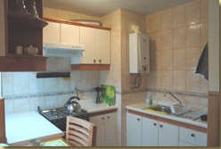 Spanisch course + accommodation in appartment kitchen