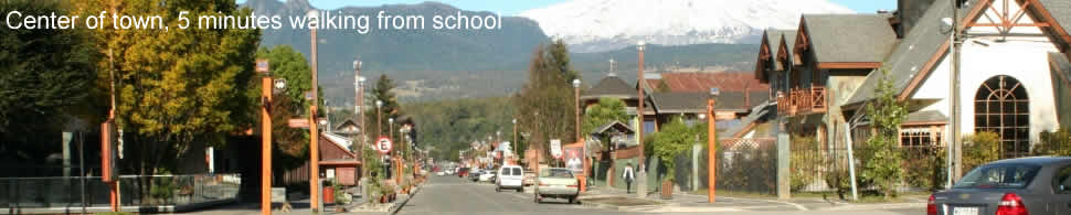 Volcano Asención in OLearn Spanish in the morning, enjoy extra school activities in the evening at language Pucon, yor place to learn Spanish in Chile